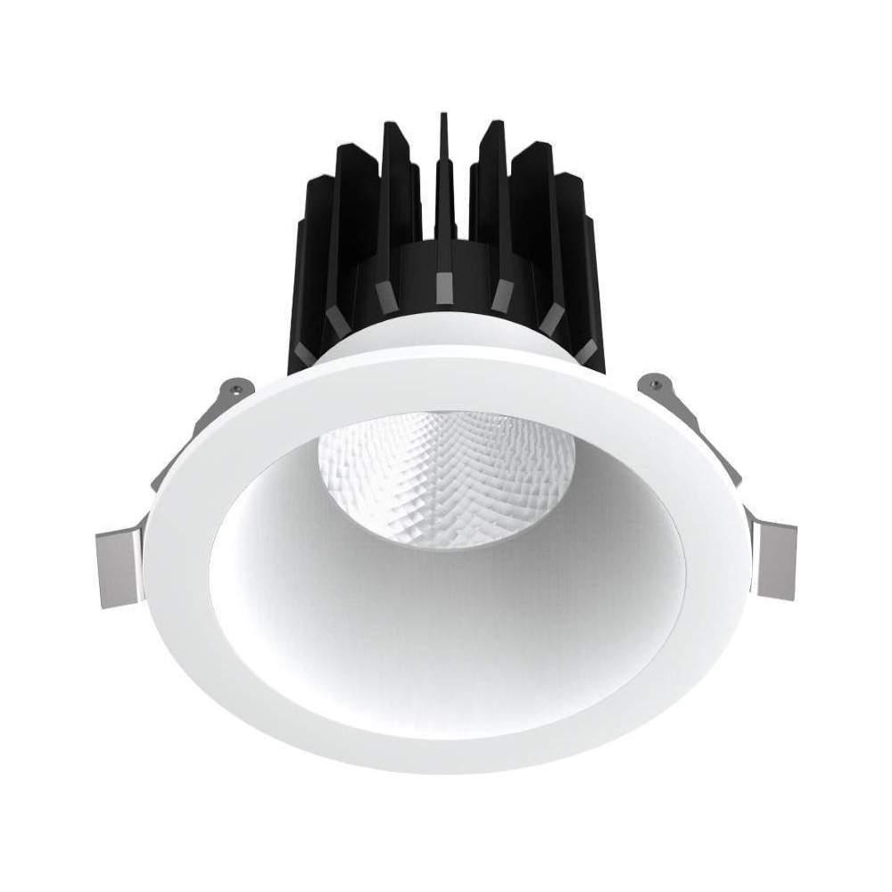LED Allvalgusti PROLUMEN DL88 2,5 valge ring 230V 10W 820lm CRI80 60° IP20 3000K soe valge