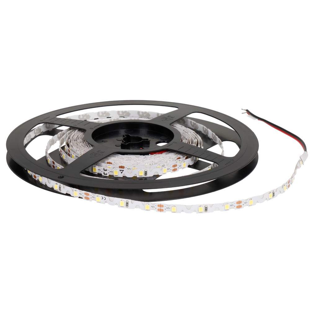 LED strip REVAL BULB 2835 60LED 1m Flexible 12V 7.2W 750lm CRI80 120° 6000K cold white