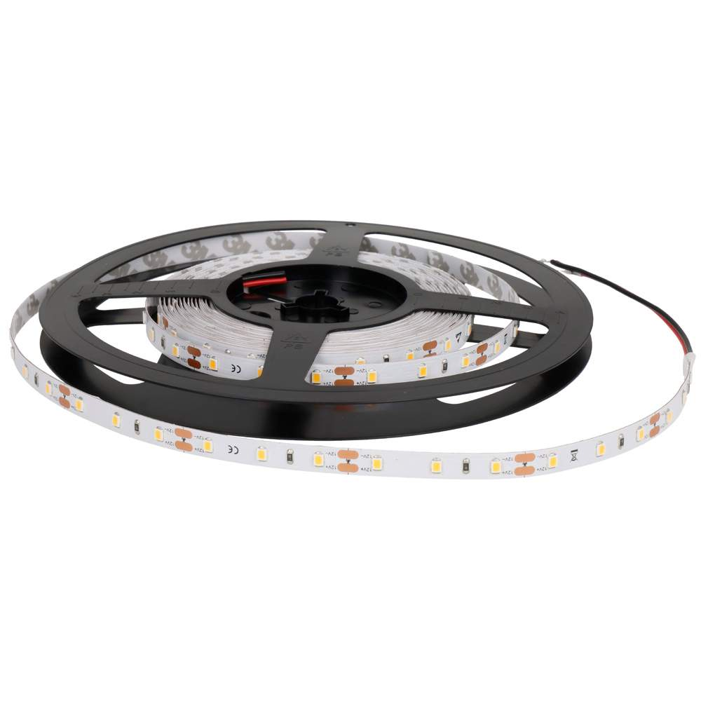 LED strip REVAL BULB 3528 60LED 1m 12V 4.8W 452lm CRI90 120° IP20 4000K pure white