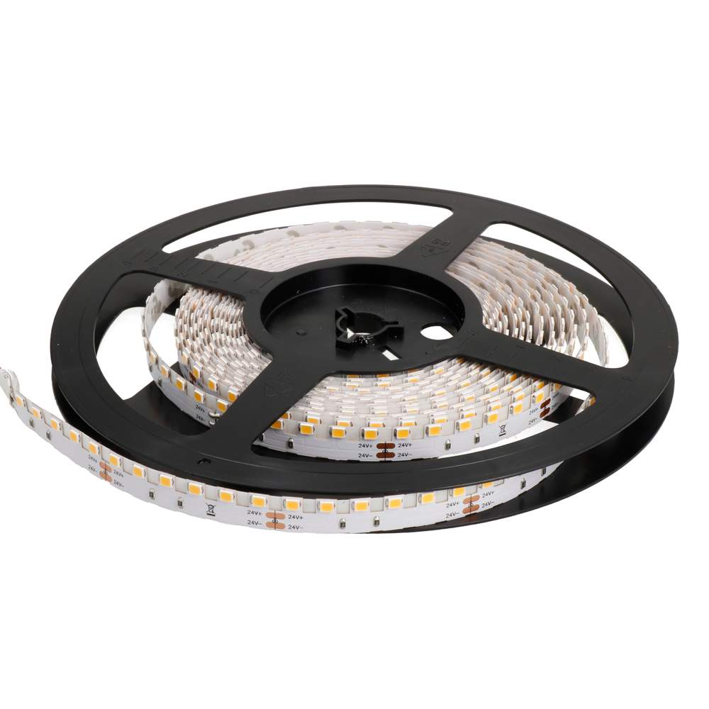 LED strip REVAL BULB 2835 120LED T 1m 24V 14.4W 1386lm CRI90 120° IP20 3000K warm white