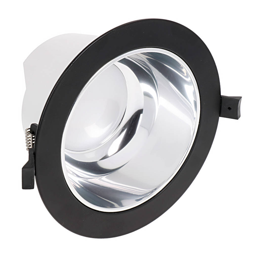 LED downlight PROLUMEN DL98B UGR19 black 230V 18W 1800lm CRI80 90° IP54 4000K pure white
