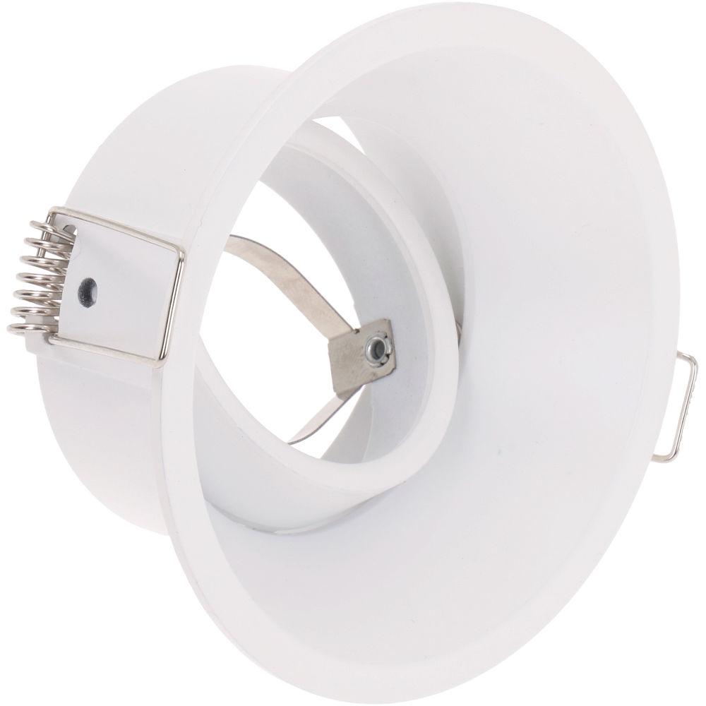 Luminaire frame 1093 white round