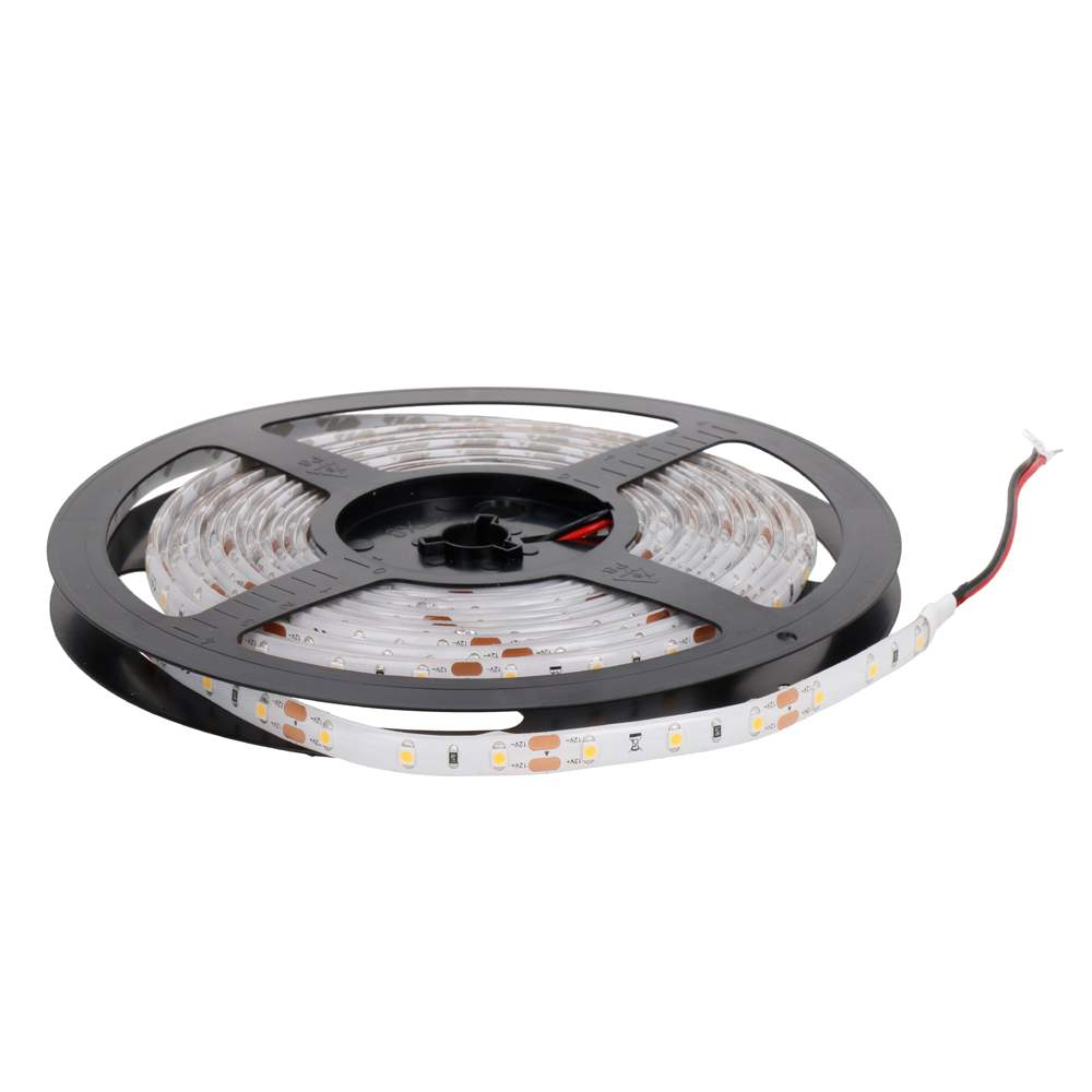 LED strip REVAL BULB 3528 60LED 5m silicone coated 12V 4.8W CRI80 120° IP55 red