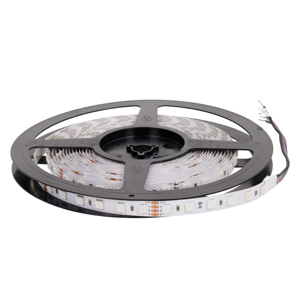 LED strip REVAL BULB 5050 72LED 1m NANO 24V 17.3W 620lm CRI80 120° IP66 RGB