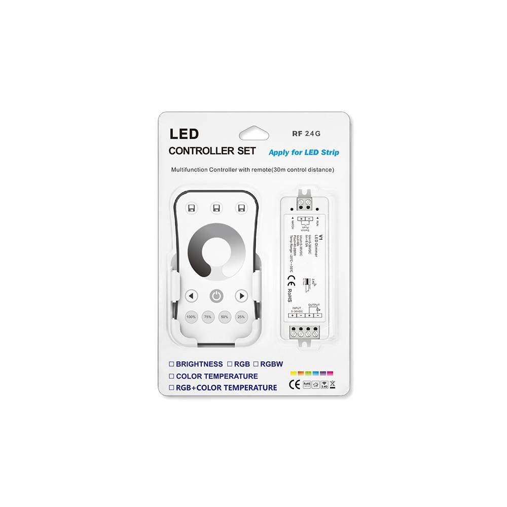LED Riba pult + juhtplokk SKYDANCE R6-1 + V1 komplekt (1 tsoon) 5-36V