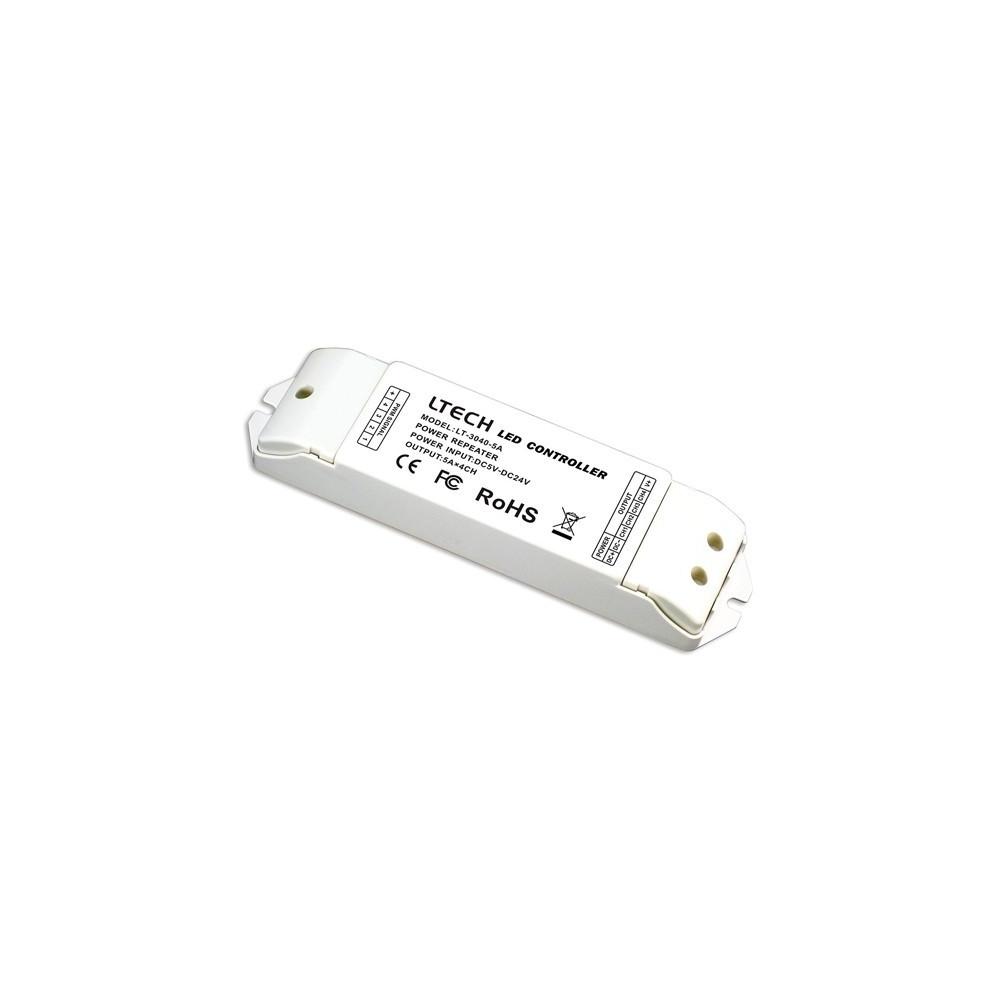 Signal amplifier LTECH LT-3040 4x5A 5-24V 480W
