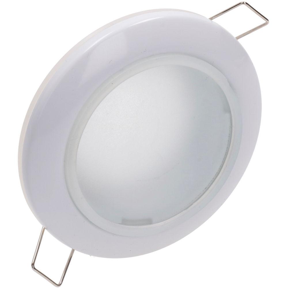 Luminaire frame UL MR16 white round 12V GU5.3 IP44