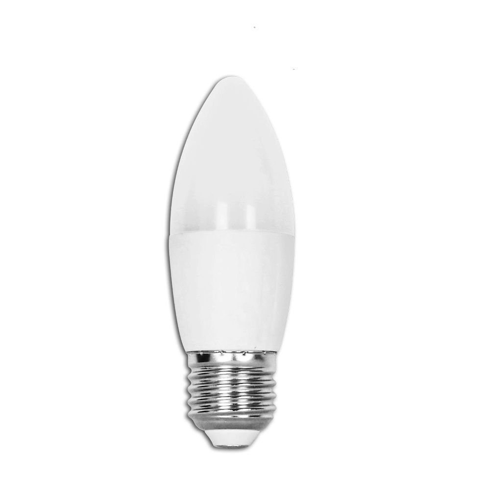 LED lamp AIGOSTAR A5 C37 230V 7W 560lm CRI80 E27 260° IP20 6400K külm valge