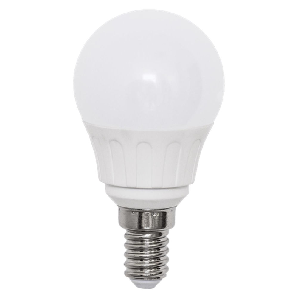LED bulb AIGOSTAR A5 G45B 230V 3W 225lm CRI80 E14 280° IP20 3000K warm white