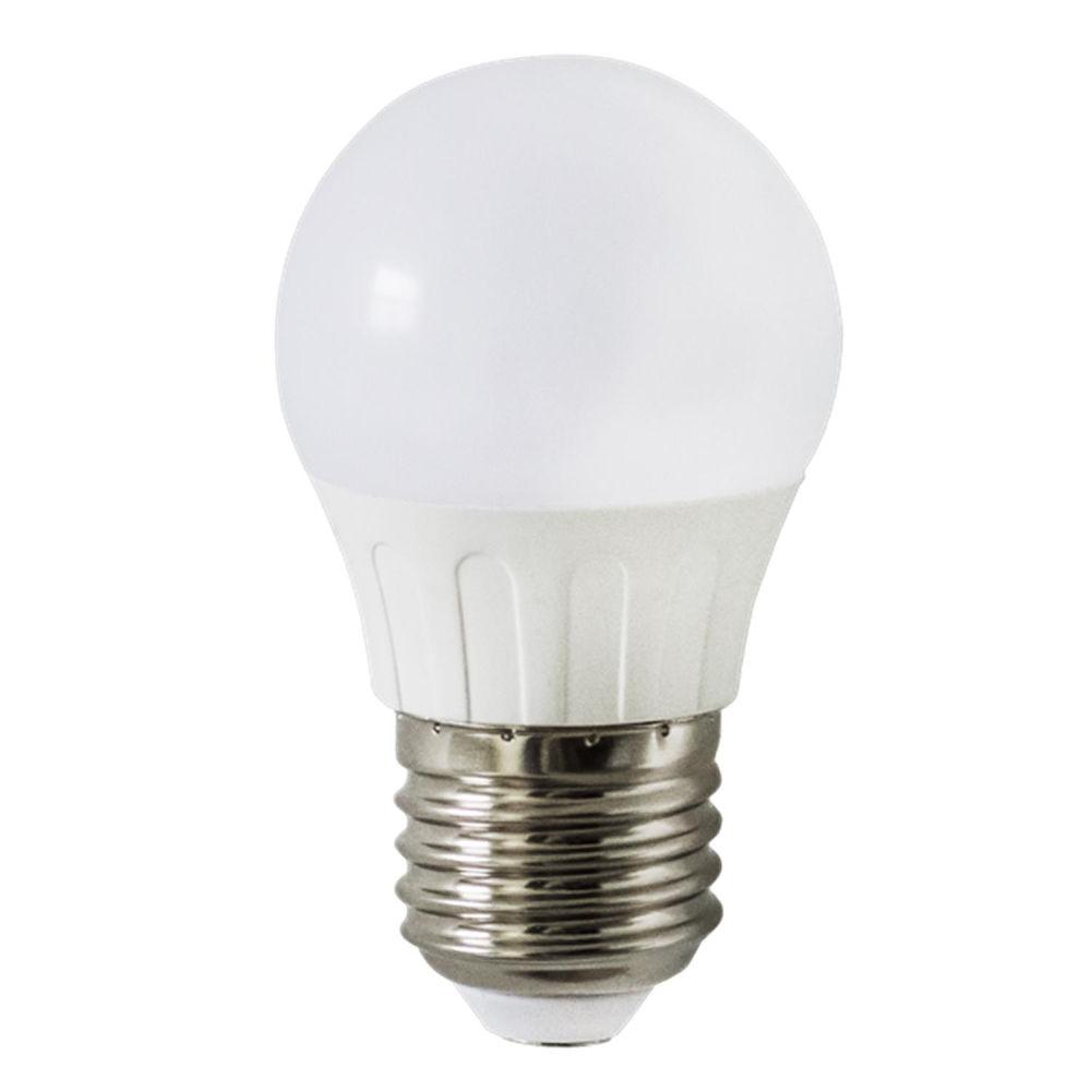 LED lamp AIGOSTAR A5 G45B 230V 3W 225lm CRI80 E27 280° IP20 3000K soe valge