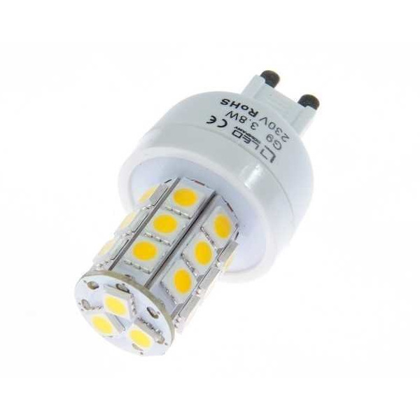 LED-lamppu REVAL BULB 5050 24SMD 230V 4W 300lm G9 360° 3000K lämmin valkoinen