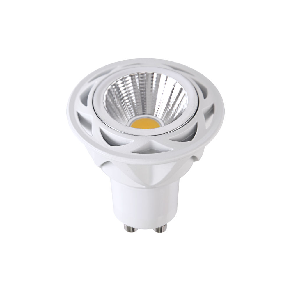 LED-lamppu 348-11 TRIAC 230V 5.5W 350lm CRI80 GU10 36° IP20 2700K lämmin valkoinen
