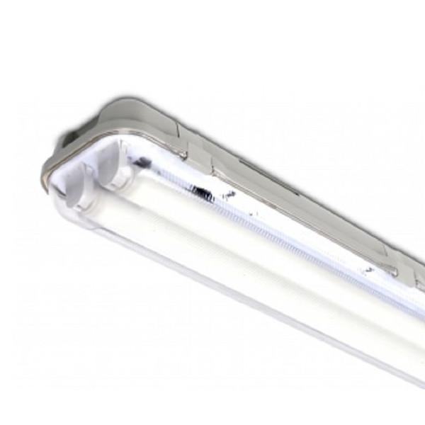 Housing T8 2 x 150 for LED tube IP65
