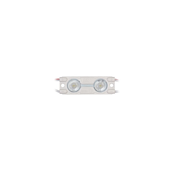 LED module MW-MLD-2835-2NW-LENS 12V 2W 44lm 160° IP67 4000K pure white