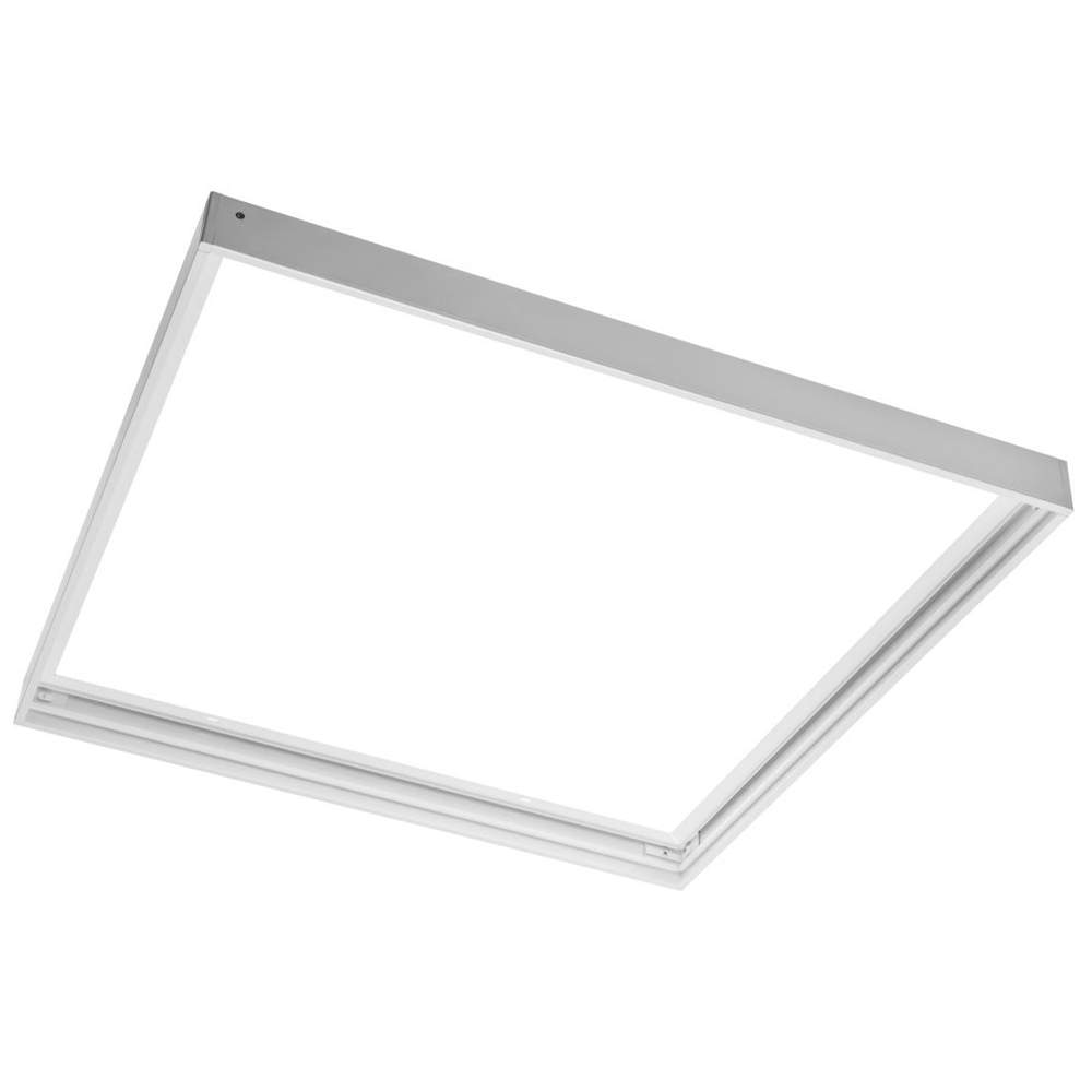 LED panel 600x600 panel frame white