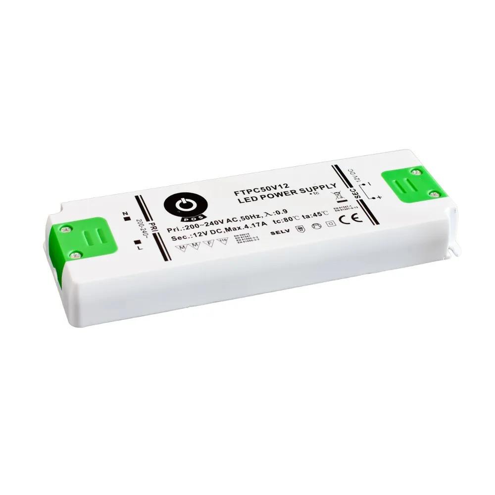 Toiteplokk POS POWER 12V DC Slim FTPC6V12 230V 6W IP20