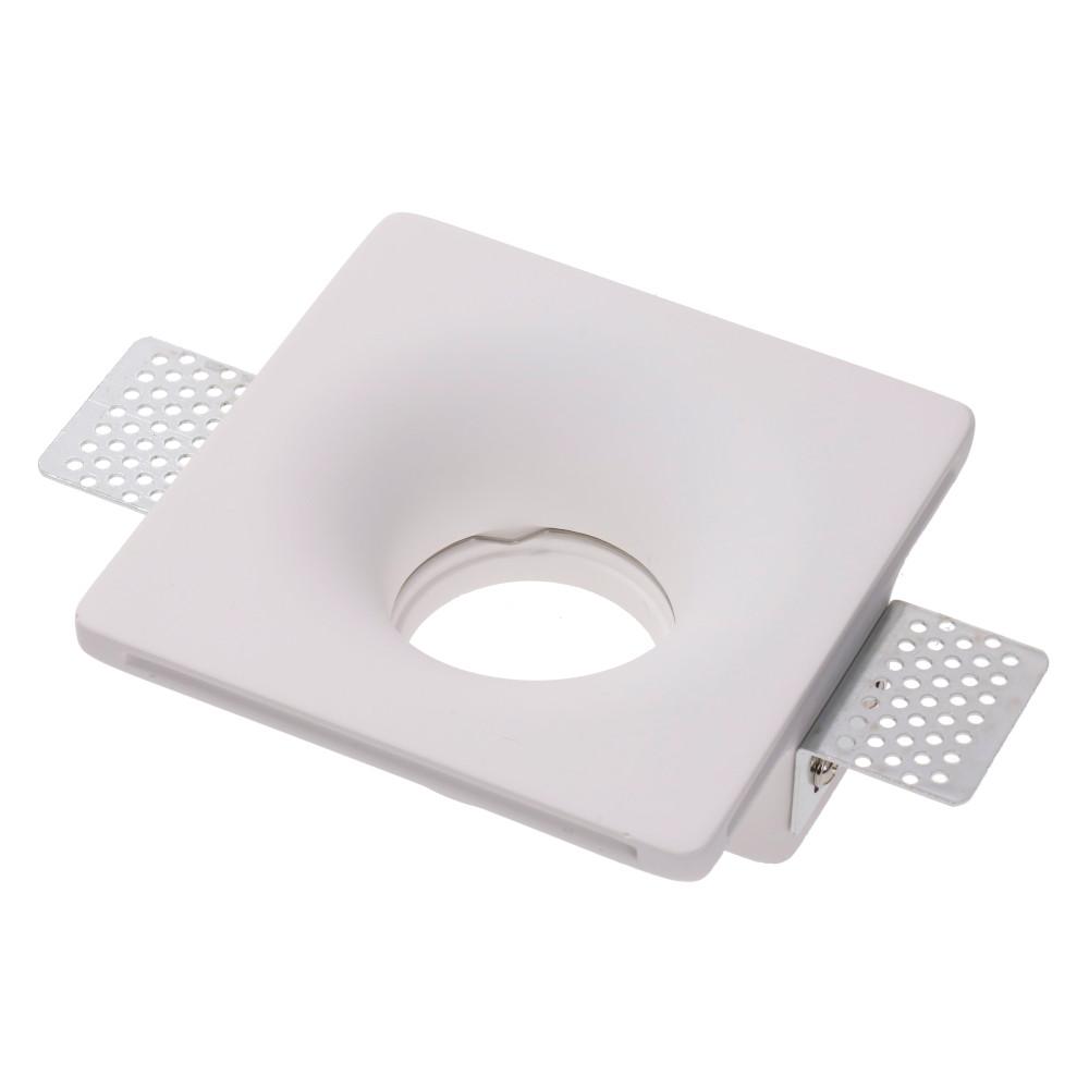 LED downlight ODEON white square 230V 35W GU10