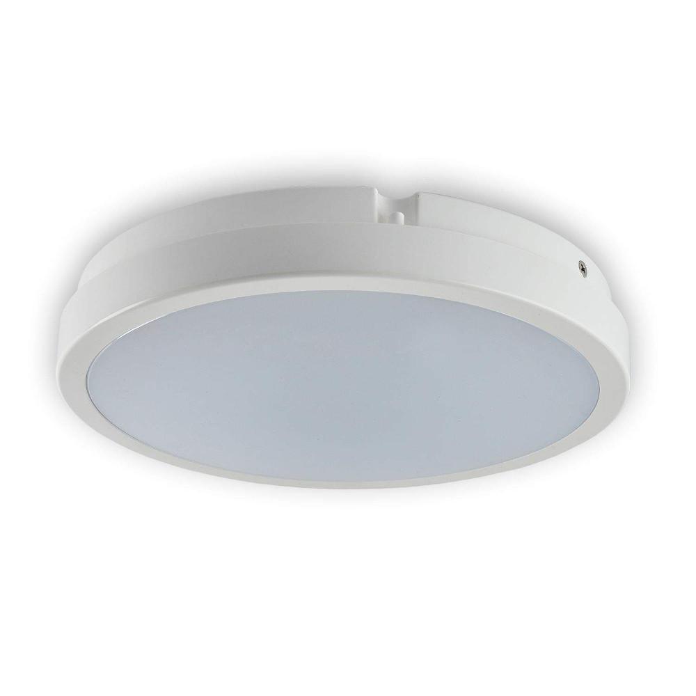 Dome light TORO white round 230V 18W 1405lm CRI80 120° IP65 4000K pure white