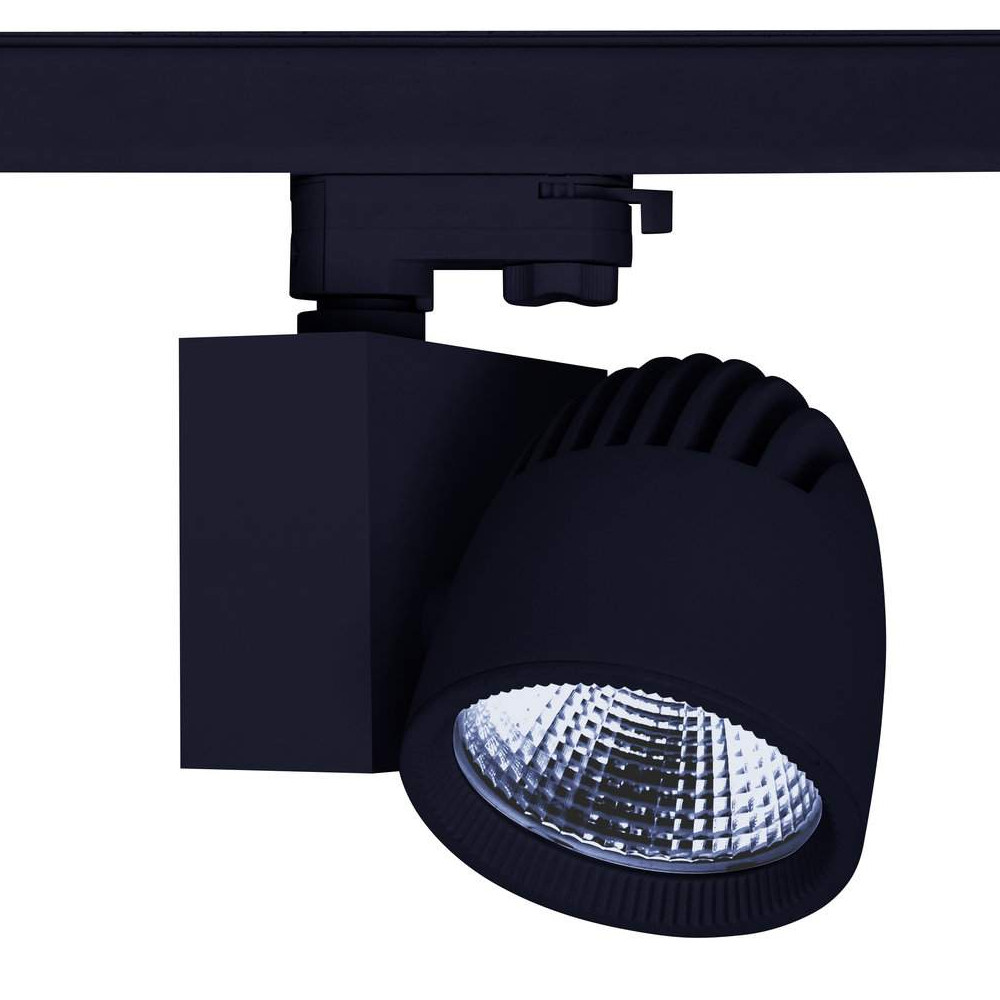 LED Siinivalgusti PROLUMEN Stockholm must 230V 40W 4000lm CRI80 45° 4000K päevavalge