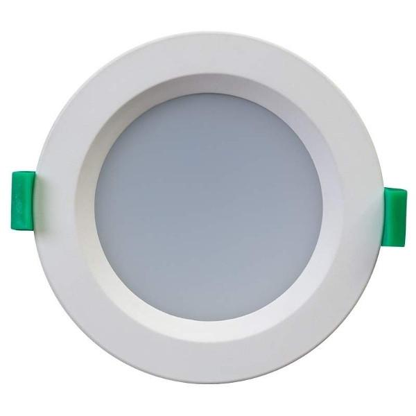 LED Allvalgusti LLV10D valge ring 230V 10W 800lm CRI80 120° IP44 3000K, 4000K, 6000K WW/DW/CW