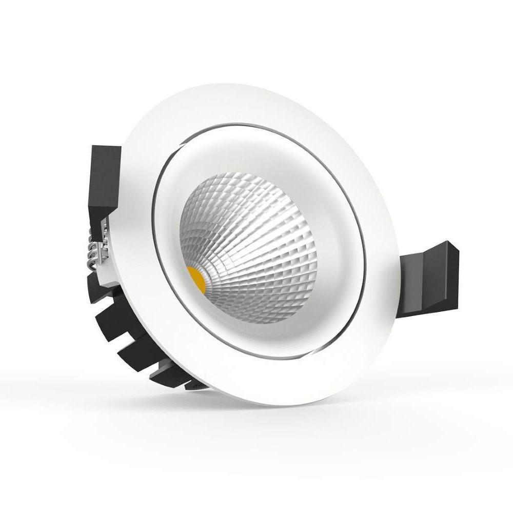 LED laevalgusti PROLUMEN CL76-3 valge ring 230V 10W 600lm CRI90 36° IP54 2000-3000K DIM TO WARM
