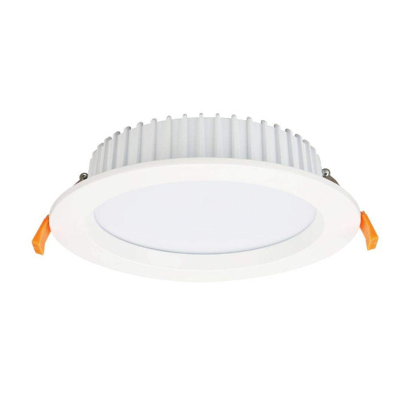 LED downlight PROLUMEN DL110 white round 230V 25W 2300lm CRI80 90° IP65 3000K warm white