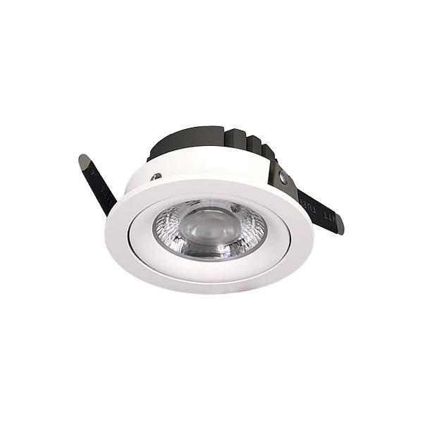 LED Allvalgusti PROLUMEN Derby valge ring 230V 8W 700lm CRI90 36° IP20 3000K soe valge