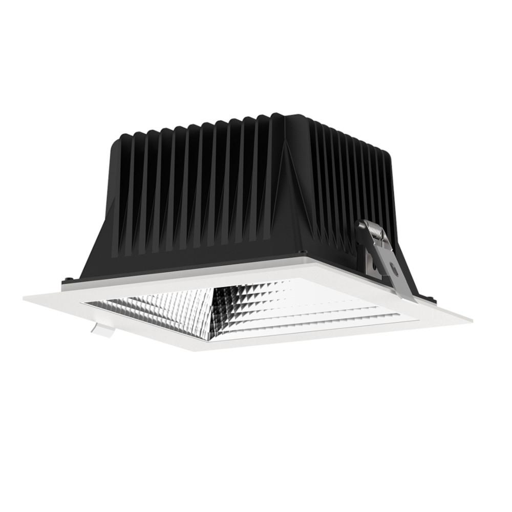 LED valgusti PROLUMEN DL197-6 UGR19 valge ruut 230V 18W 1600lm CRI80 60° IP44 3000K soe valge