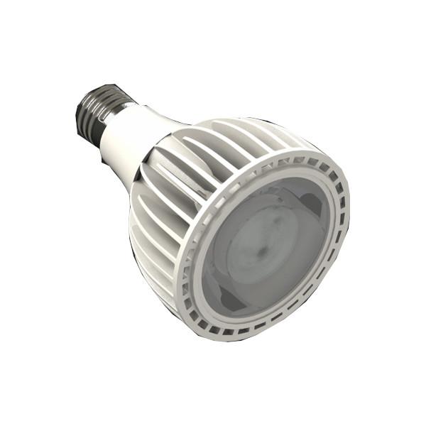 LED lamp REVAL BULB ALU PAR30 TRIAC 230V 25W 1750lm CRI90 E27 60° IP20 3000K soe valge