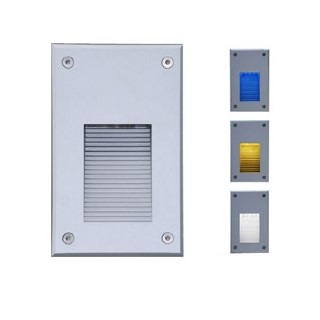 LED flushed wall light LED flushed wall light ALRW03 230V 1.5W IP65 3000K warm white