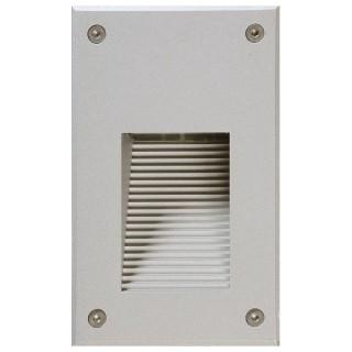 LED upotettu seinävalaisin  ALRW03  1.5W  IP65 3000K lämmin valkoinen