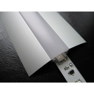 Alumiiniumprofiil  ALU Flat 2m