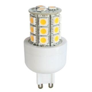 LED lamp REVAL BULB 5050 24SMD 230V 4W 300lm G9 360° 3000K soe valge