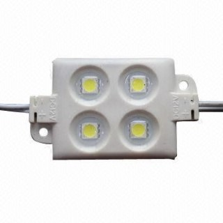 LED module  4 x SMD 5050 12V  1,44W 70lm  120° IP65 pure white 4000K