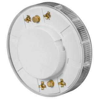 LED Pirn  GX53 12SMD 5050  2.2W 110lm  120° 3000K soe valge