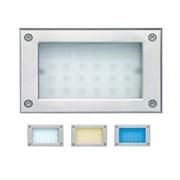 LED flushed wall light LED flushed wall light ALRW02 230V 2W 60° IP65 3000K warm white