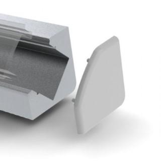 Aluminium profile  ALU 45 otsakork kaabliavata, metall
