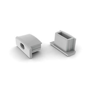Alumiiniprofiili  ALU SlimLine 7mm otsakork