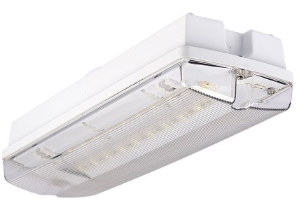 LED Turvavalgusti INTELIGHT LED Exit Orion A/TA 3h manuaalne testimine hall 230V 3W IP65