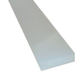 Крышка алюминиевого профиля LUZ NEGRA Dublin 2m   opal