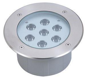 LED põrandavalgusti LED põrandavalgusti  UG 15 hõbedane  24V 21W CRI80  45° IP67 3000K soe valge