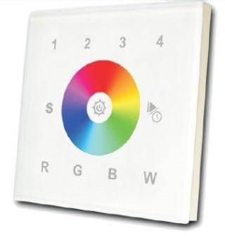 Control panel  SR-2820 4 zone, white 12-24V   RGBW