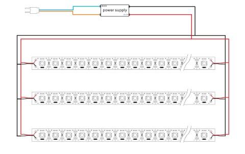 LED nauha PROLUMEN 5050 72LED 1m  12V 17.2W 1296lm CRI80 120° 6000K kylmä valkoinen