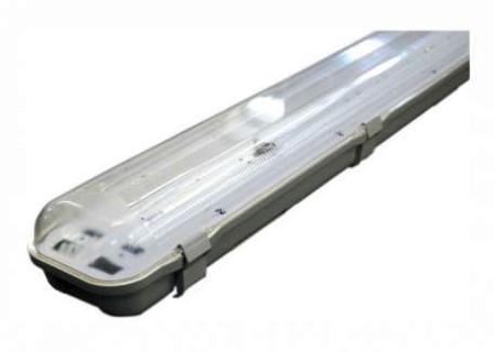 Housing Housing T8 2 x 120 for LED tube 230V IP65