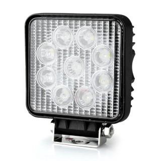 LED vehicle light LED vehicle light REVAL BULB Square black 9-33V 27W 1480lm 30° IP67 6500K cold white