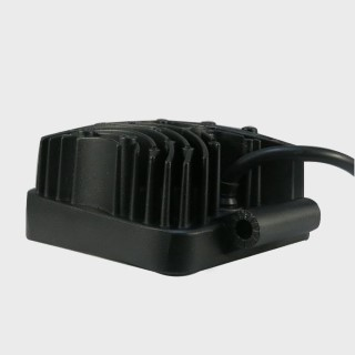 LED vehicle light REVAL BULB Square black 9-33V 27W 1480lm 30° IP67 6500K cold white