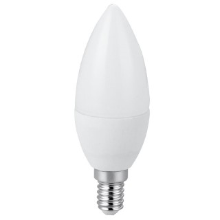 LED bulb AIGOSTAR A5 37 candle white  7W 490lm E14 270° IP20 warm white 3000K