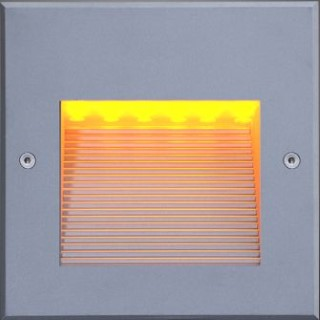 LED flushed wall light LED flushed wall light ALRW01 230V 1.4W 60° IP65 3000K warm white