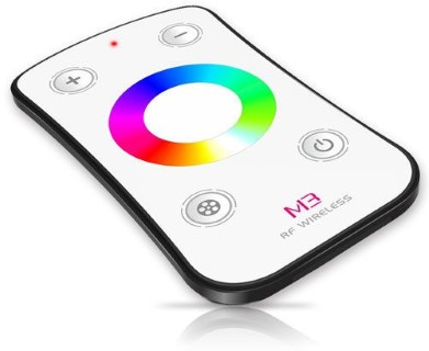 LED Riba pult + juhtplokk LED Riba pult + juhtplokk LTECH Mini 3 RGB wheel remote valge  12-24V 108W/216W