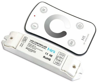 LED Riba pult + juhtplokk LED Riba pult + juhtplokk LTECH Mini 1 dimming controller 12-24V 216W
